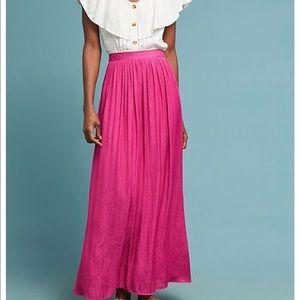 Gorgeous Anthropologie Maxi Skirt